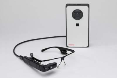 Toshiba представили уникальные смарт-очки
