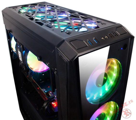 Компания Xigmatek представила новый игровой корпус