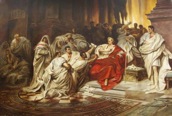 15 марта — годовщина убийства Гая Юлия Цезаря