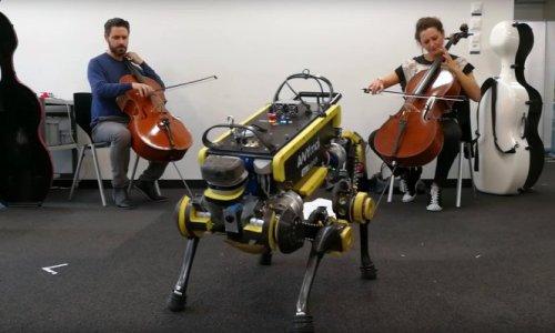 Четвероногий робот ANYmal научился танцевать под живую музыку