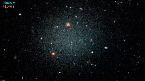 Астрономы обнаружили уникальную галактику, в которой нет темной материи