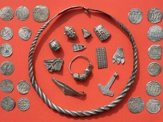 Немецкий школьник нашел уникальный клад короля Харальда Синезубого