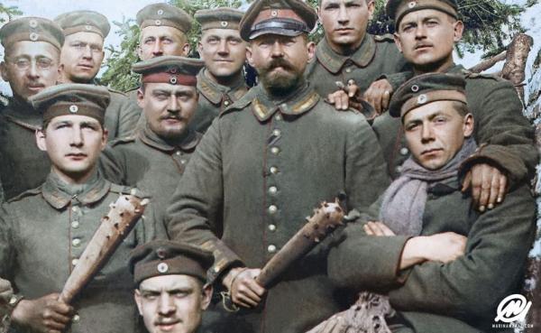 Немцы, австрийцы и офицерские банды. Украина 1918 г.