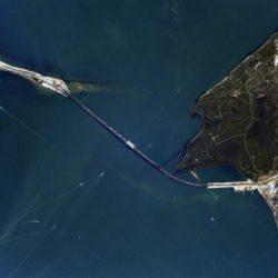 Крымский мост из космоса. И не только