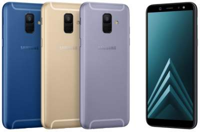 Samsung представила смартфоны Galaxy A6 и A6+