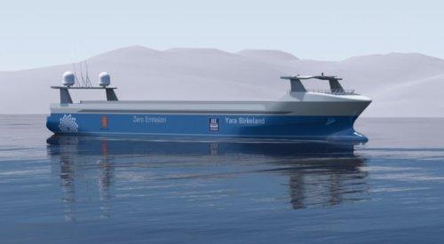 В Норвегии зарегистрирована новая компания, которая первой в мире начнет использовать суда-роботы для морских грузоперевозок