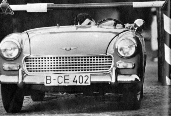 Хайнц Майснер бежит из Восточного Берлина, 1963 год, ФРГ