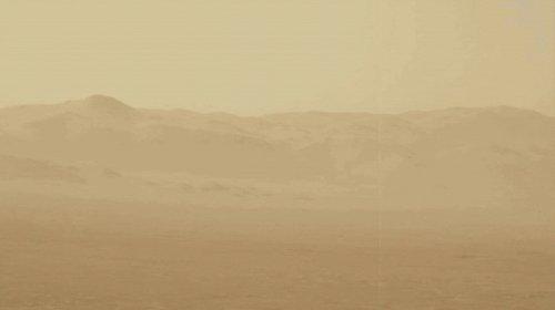 Песчаная буря, остановившая марсоход Opportunity, охватила почти всю Красную Планету