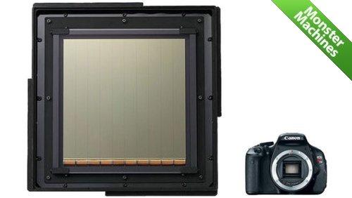 """Машины-монстры: Огромный CMOS-датчик от компании Canon, который используется для """"охоты"""" за метеорами"""