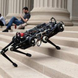 """Cheetah 3 - """"слепой"""" робот, способный бегать, подниматься по лестницам и преодолевать препятствия"""