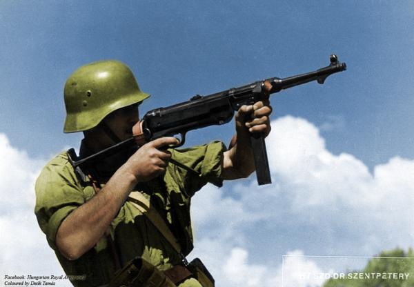 Гусары и графы с замками. Разгром Венгрии. 1944 г.