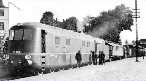 Паровоз BR 05 003, 1944 год, Великогерманская Империя