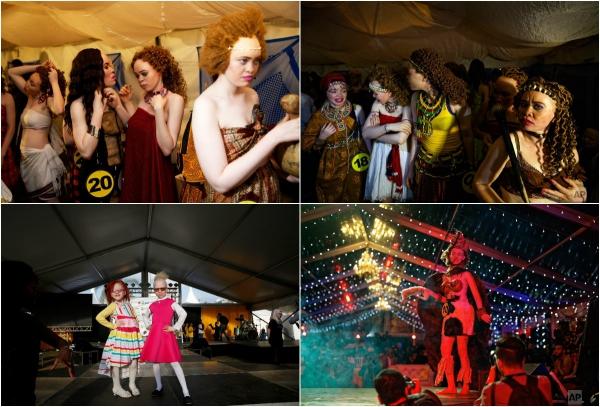 Новаторский конкурс красоты для людей с альбинизмом