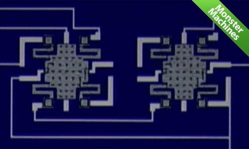 Машины-монстры: Самое маленькое электромеханическое реле, срабатывающее от напряжения в 50 милливольт