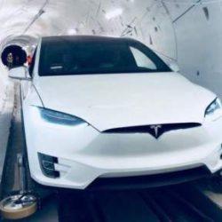 Илон Маск открыл первый скоростной подземный тоннель