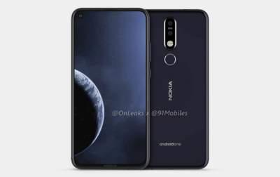 Дизайн флагмана Nokia 8.1 Plus полностью раскрыли до анонса