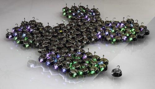 """Ученые превратили """"рой"""" из 300 крошечных роботов в аналог многоклеточного живого организма"""