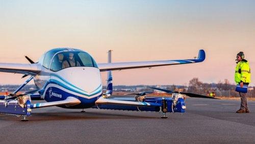 """Опытный образец """"летающего такси"""" от компании Boeing совершил первый испытательный полет"""