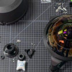 """Машины-монстры: C-4 Optics - объектив с самой большой линзой типа """"рыбий глаз"""", способный взглянуть назад за себя"""