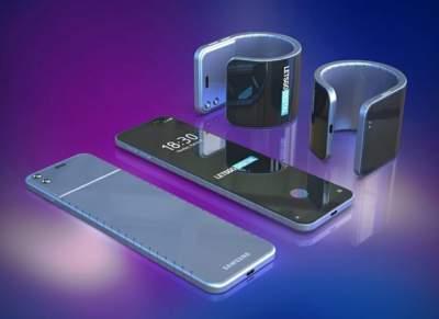 Samsung создаст гибкий смартфон-браслет