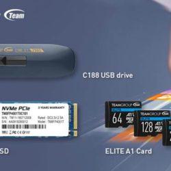 Компания Team Group выпустила три новых флэш-накопителя повышенной ёмкости