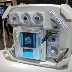 Prime Utopia - футуристический прототип материнской платы следующего поколения от компании Asus