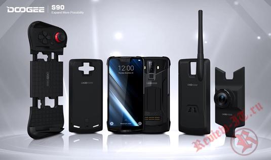 Многофункциональный уникальный модуль-смартфон DOOGEE S90 теперь доступен  россиянам на AliExpress