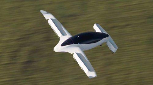 Компания Lilium демонстрирует возможности своего летательного аппарата Lilium Jet