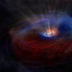 Обнаружена галактика, в центре которой находятся облака, вращающиеся странным образом
