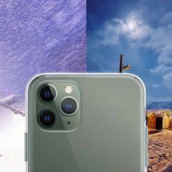 """Фотограф протестировал новый iPhone 11 Pro в """"ночном режиме"""" в Арктическом Мурманске зимой"""
