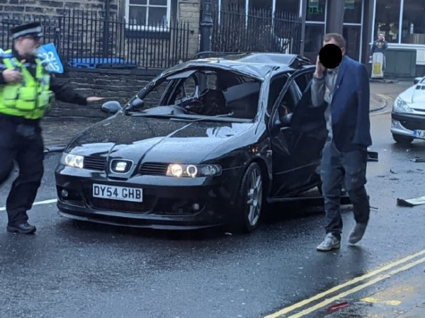 Машина взорвалась из-за освежителя воздуха и сигареты в салоне