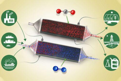 """Создана """"экологическая"""" батарея, которая при зарядке поглощает углекислый газ из атмосферы"""