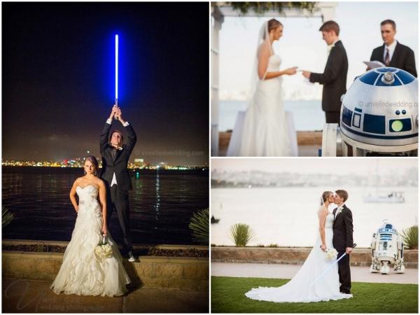 Свадьба в стиле «Star Wars»