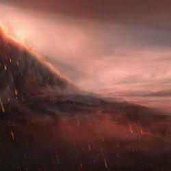 WASP-76b - планета, температура на которой достигает 2400 градусов и на которой идут дожди из расплавленного металла