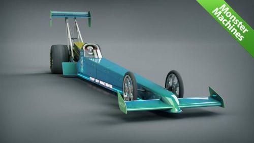 Машины-монстры: Top EV Racing & HyperPower - самый мощный электрический автомобиль, который вскоре станет и самым быстрым