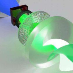 """Создан первый в своем роде мета-лазер, вырабатывающий сильно """"закрученный"""" свет"""