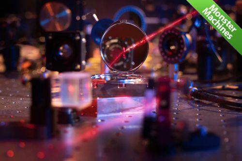 Машины-монстры: Самое маленькое в мире зеркало, состоящее из нескольких сотен атомов