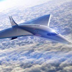 Компания Virgin Galactic представляет проект гиперзвукового пассажирского самолета, способного летать со скоростью в 3 Маха