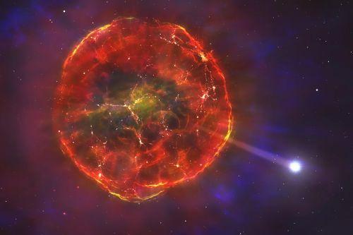 Астрономы обнаружили странную звезду, которой удалось пережить взрыв сверхновой