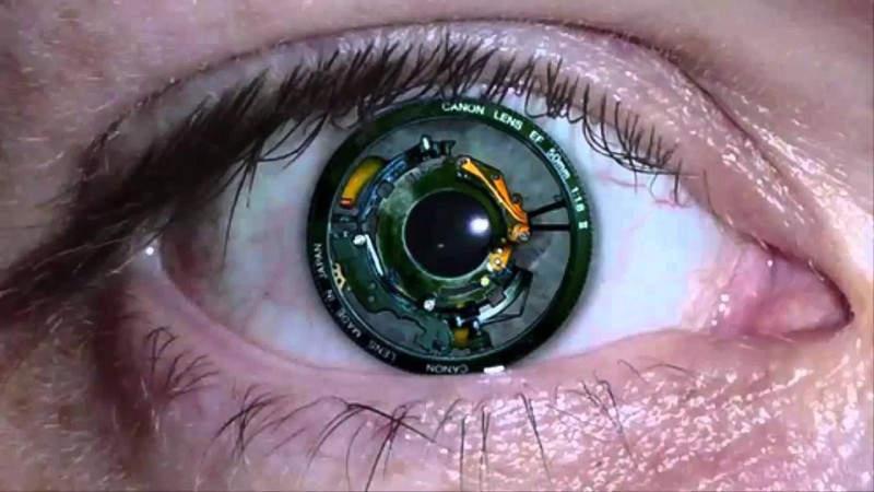 Глаза Люди-киборги