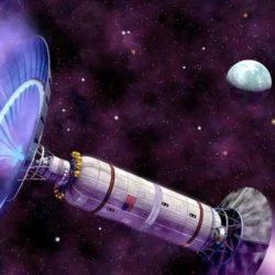 Межзвездный двигатель по типу электрического паруса